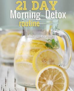 21 Day Lemon Detox